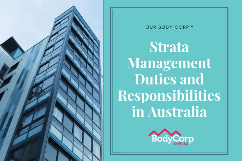 Strata Management Duties