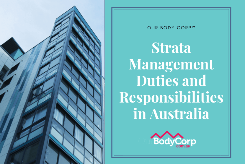Strata Management Duties